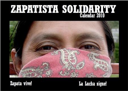 Zapatsta Solidarity Calendar 2010